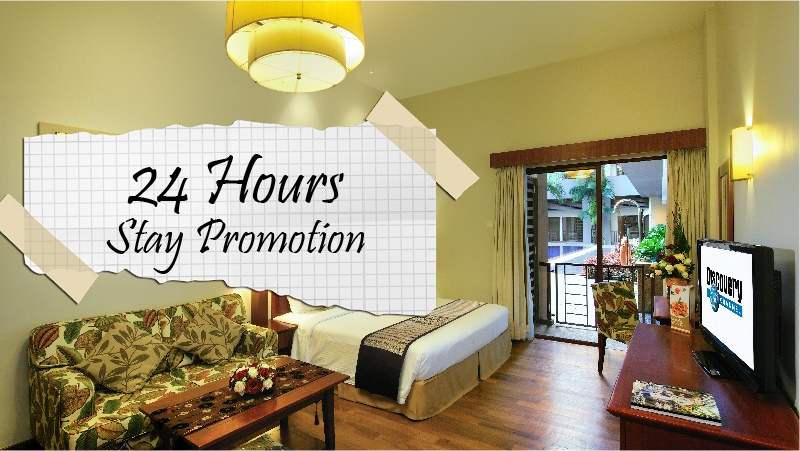 24 Hours Flexi Stay Promo with Breakfast