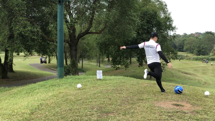 Stay and Play FootGolf Game Package