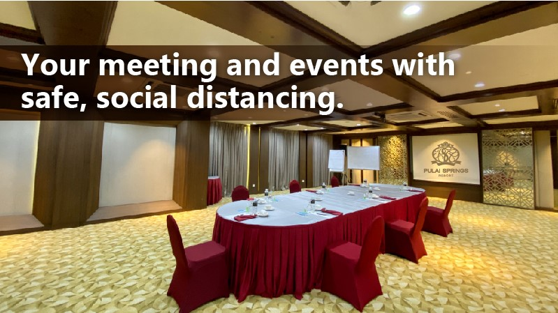 Meetings and Events with Safe Social Distancing